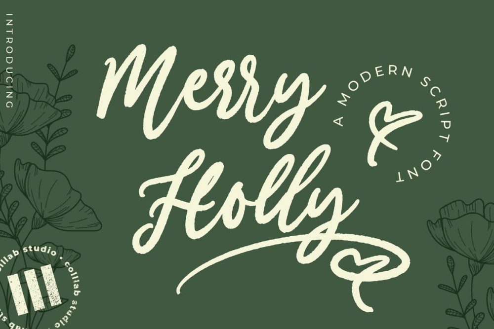Merry Holly Font Free Download
