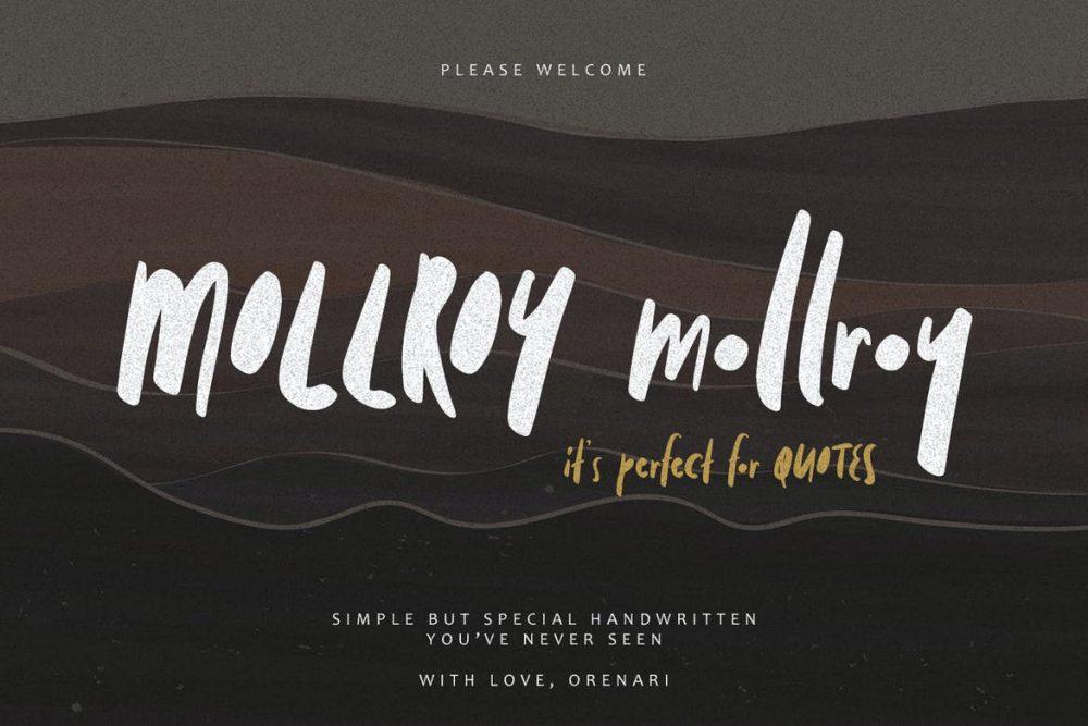 Mollroy Font