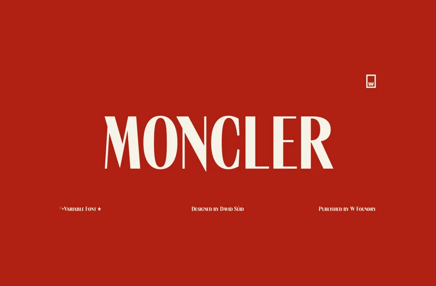 Moncler Font Family Free Download
