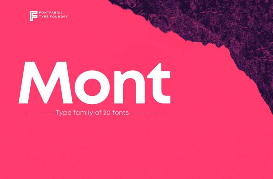 Mont Font Family Free Download