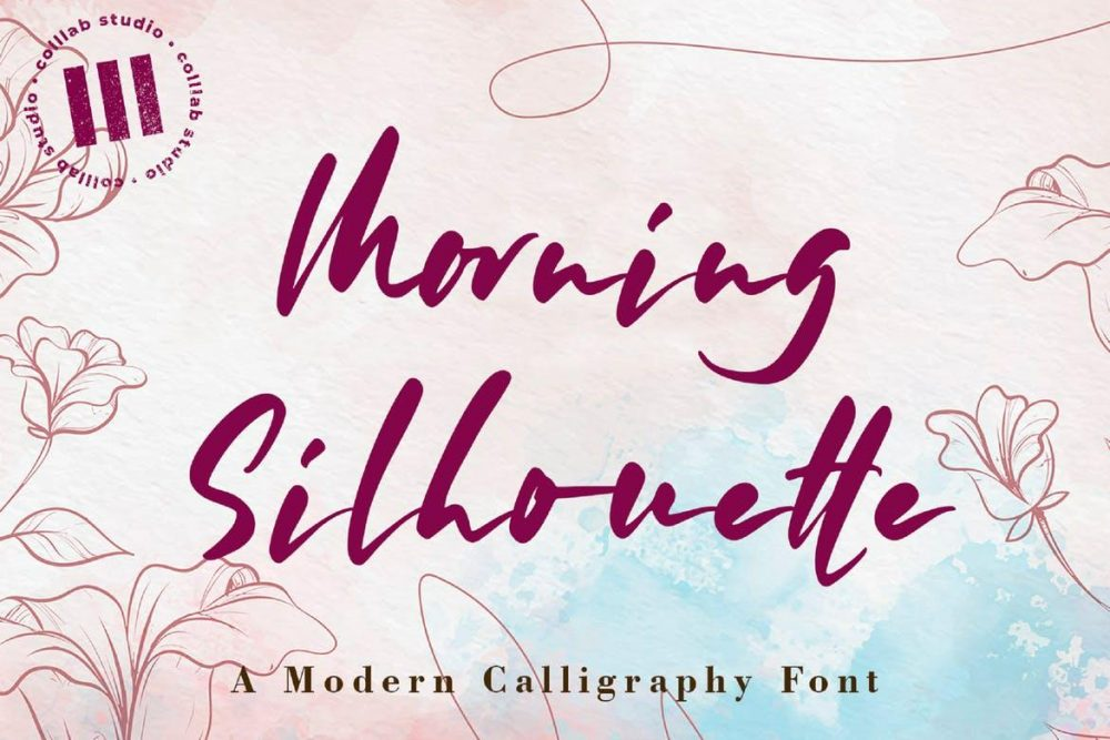 Morning Silhouette Font Free Download