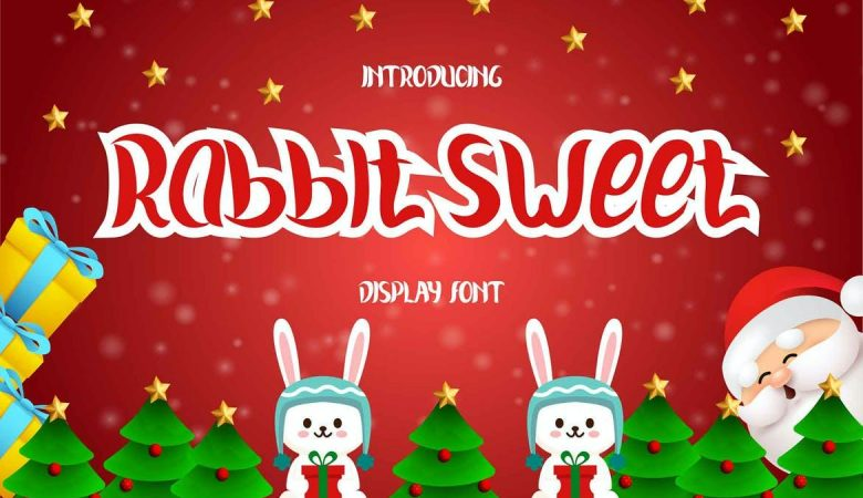 Rabbit Sweet Display Font Free Download