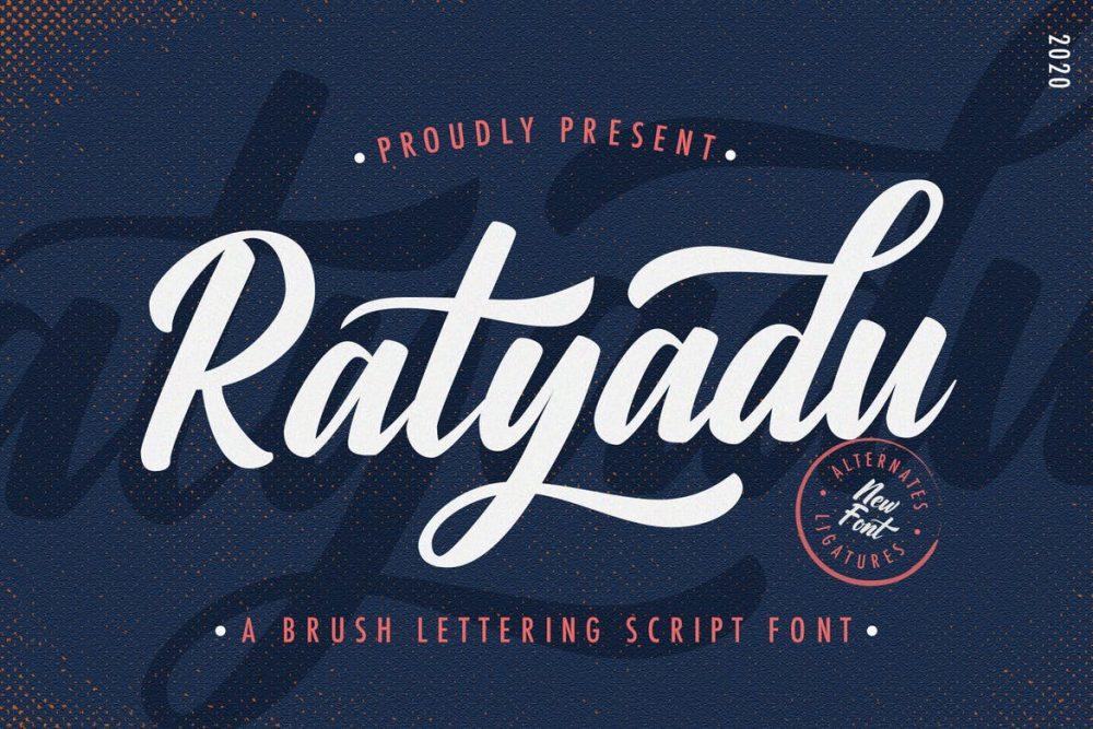 Ratyadu Script Font