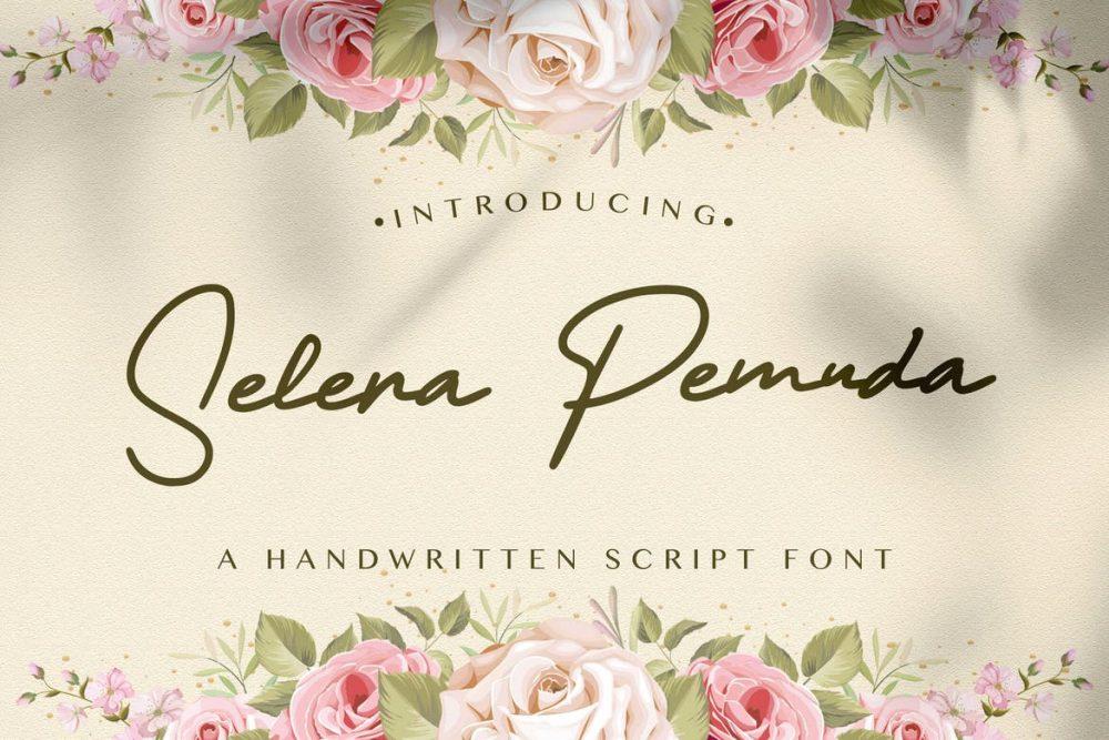 Selera Pemuda Handwritten Font