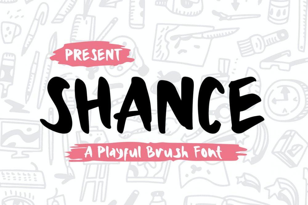 Shance Font