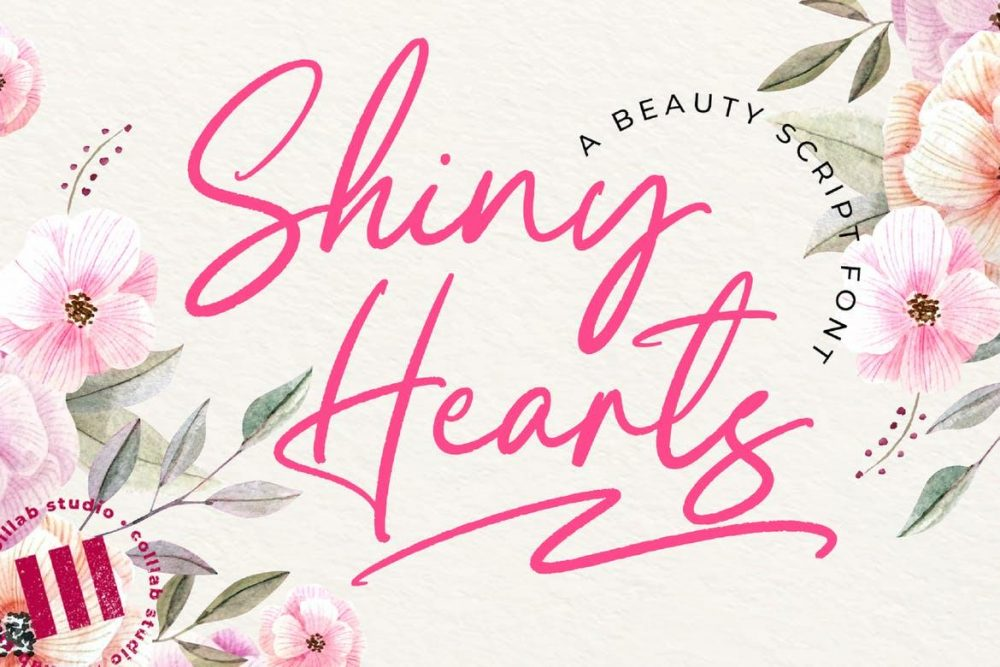 Shiny Hearts Font Free Download