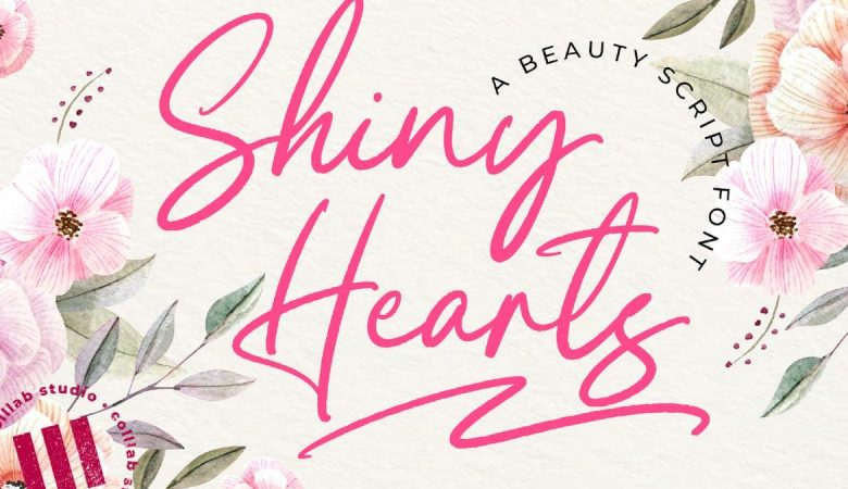 Shiny Hearts Font Free Download