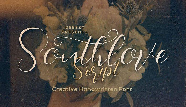 Southlove Script Font Free Download
