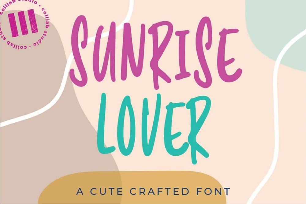 Sunrise Lover Font Free Download