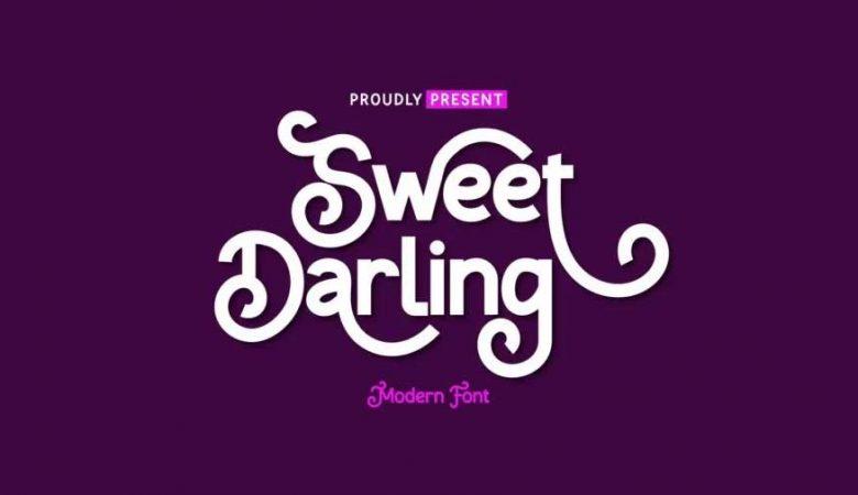 Sweet Darling Font Free Download