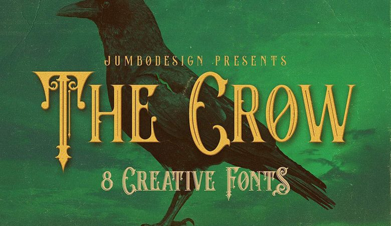 The Crow Font Family