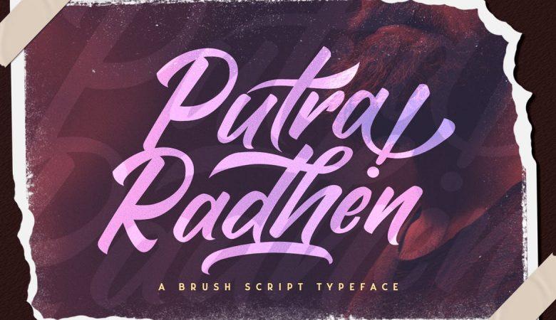 Putra Raden Script Font