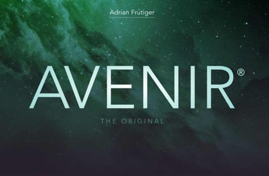 Avenir Font Free Download