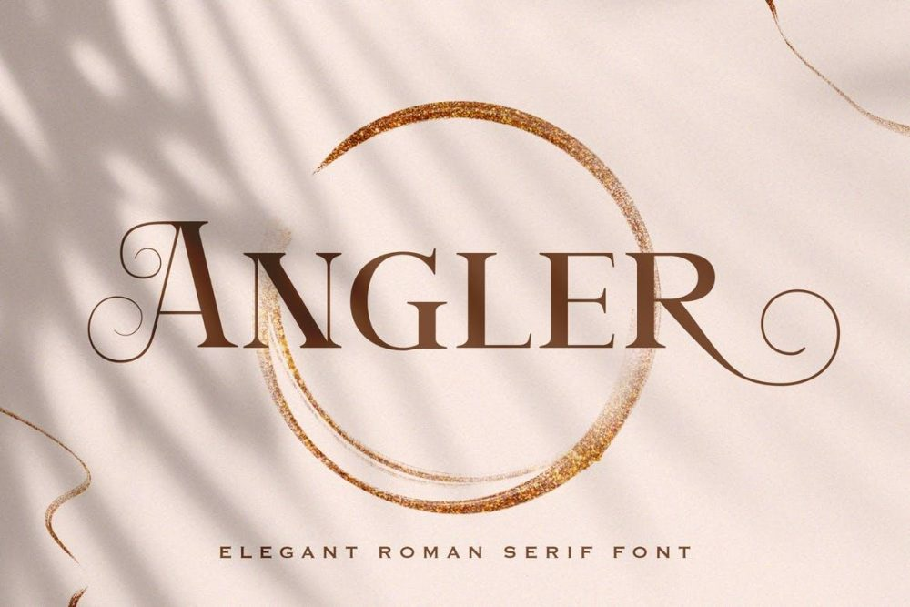 Angler - Roman Serif Font Free