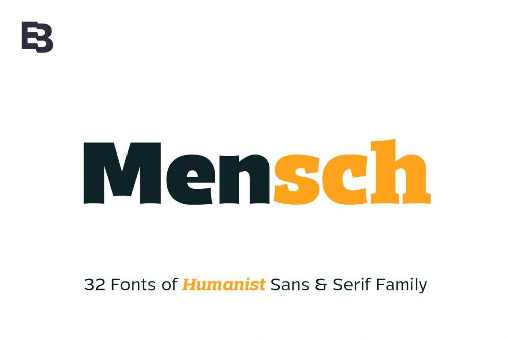 Mensch Font Free