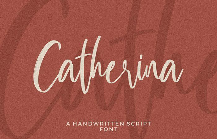 Catherina Script Handwritten Font