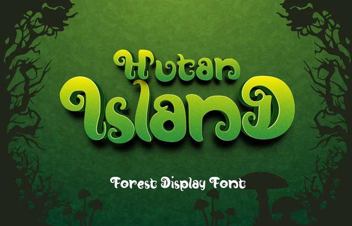 Hutan-Island Forest Display Font