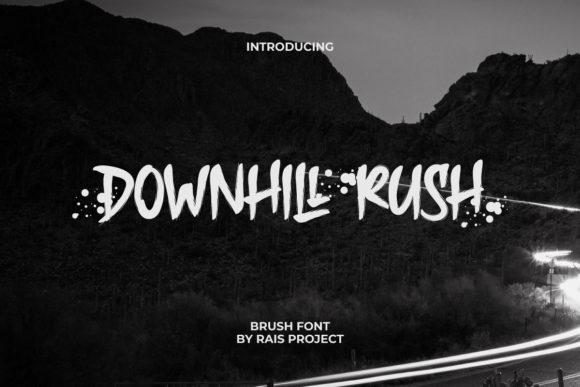 Downhill Rush Font