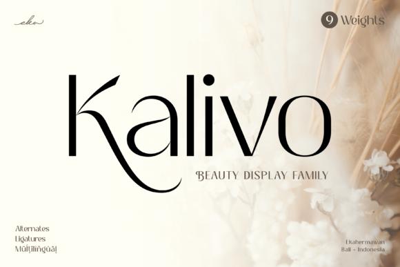 Kalivo Font
