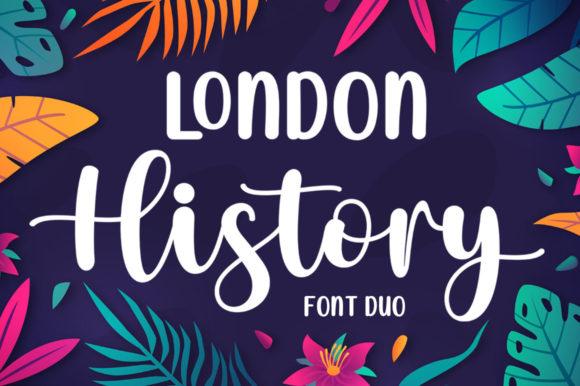 London History Duo Font