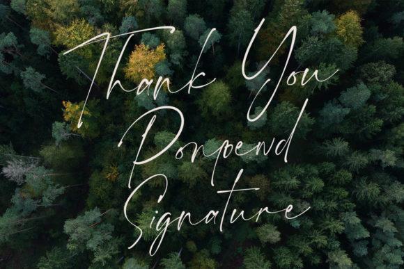 Ponpewd Signature Script