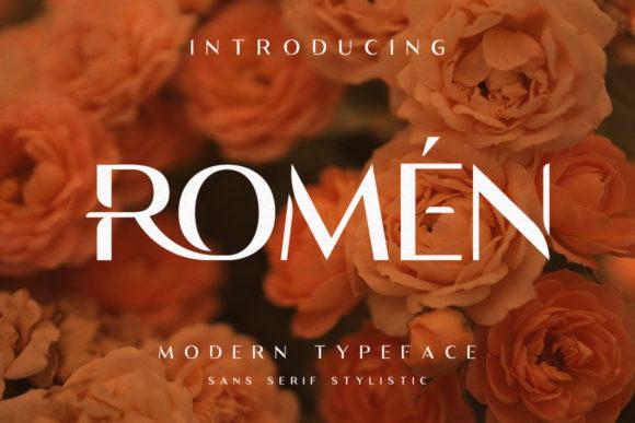 Romen Font