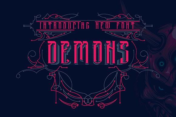 Demon Font