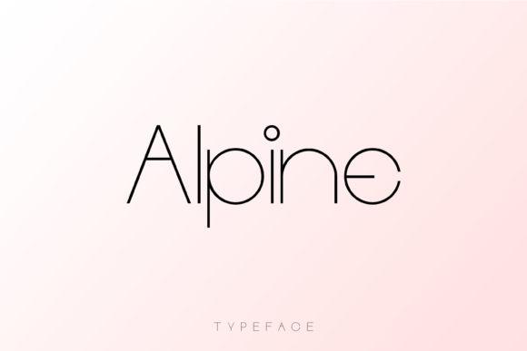 Alpine Font