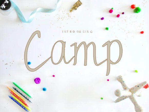 Camp Font