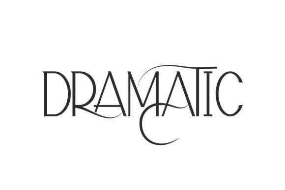 Dramatic Font
