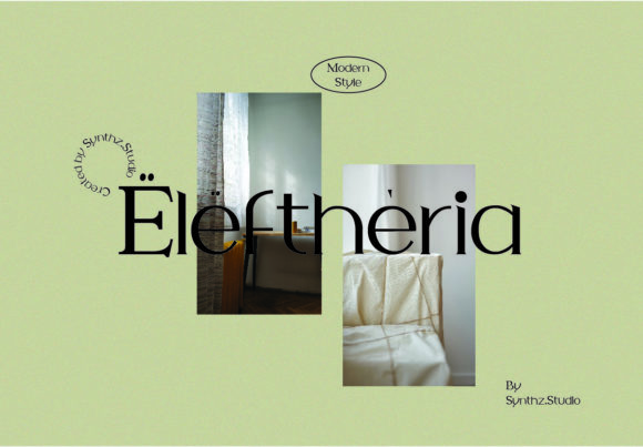 Eleftheria Font