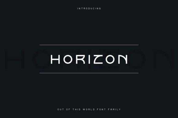 Horizon Font
