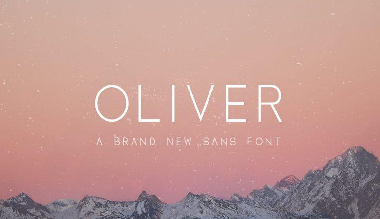 Oliver Fonts