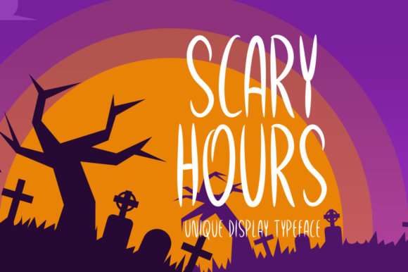 Scary Hours Font