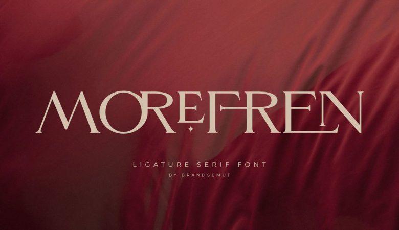 Morefren Font